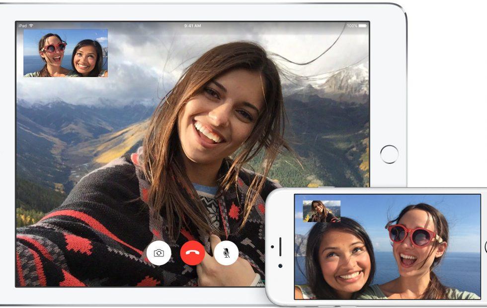 videochiamata tra tablet e smartphone